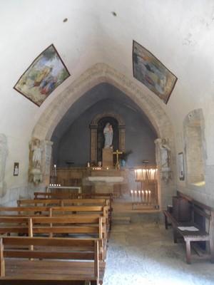 Notre Dame du Cayla choeur