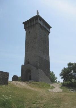La tour de Peyrebrune SARAC