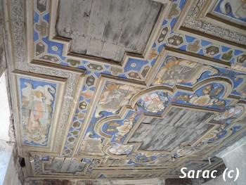 St Izaire plafond polychrome