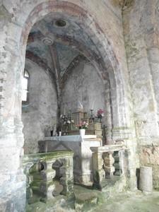 St Rome de Berlières autel latéral gauche
